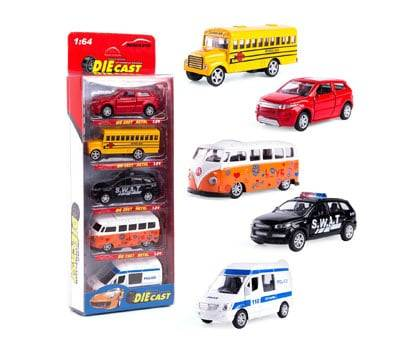 Product image of KIDAMI Die-cast Metal Toy Cars