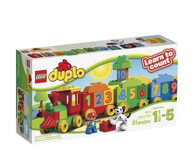Product image of LEGO DUPLO My First Number Train Building Set 10558