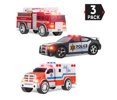 Product image of Liberty Imports 3-in-1 True Hero Vehicles