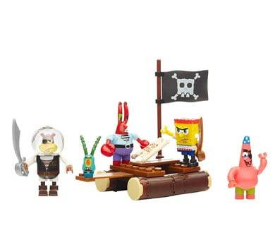 Product image of Mega Bloks Spongebob Squarepants Pirate Figure Pack