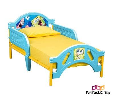 Product image of Nickelodeon SpongeBob Plastic Bed