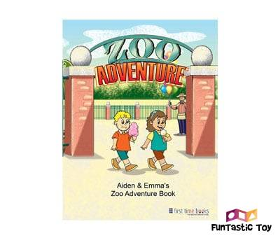 Product image of Personalized Childrens Zoo Adventure Book