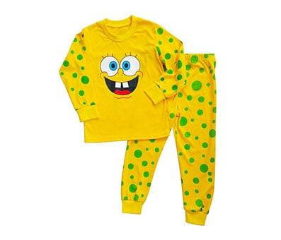Product image of Spongebob Squarepants Pajama Sets