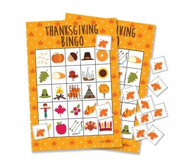 Product image of Thanksgiving Bingo Game