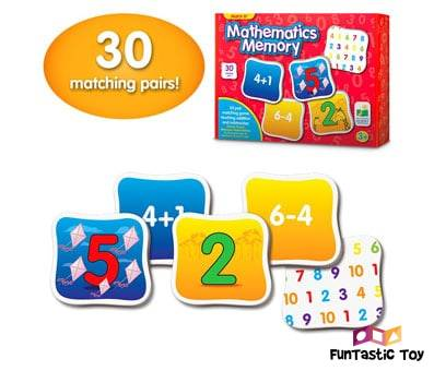 Product image of The Learning Journey Match It Memory and Mathematics