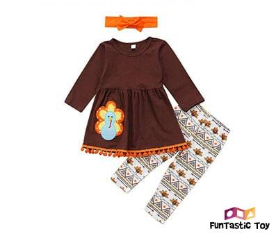 Product image of Toddler Girl Thanksgiving Outfit