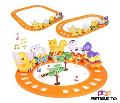 Product image of Toddler Train Set Toys by FUN LITTLE TOYS