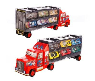 Product image of Tuko Car Toys Die Cast Carrier Truck Vehicles
