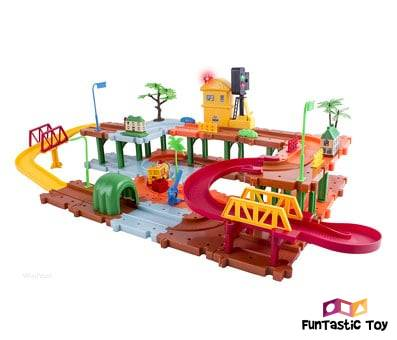 Product image of WolVol Big Train Tracks Set Toy for Kids