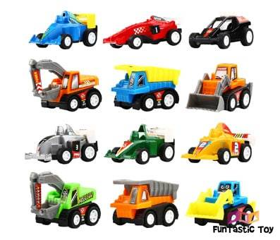 Product image of Yeonha Toys Pull Back Vehicles 12 pack