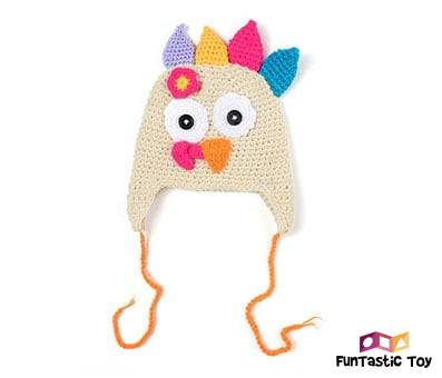 Product image of Ypser Baby Thanksgiving Christmas Beanie Turkey Knitted Cap