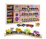 Small Product image of Magnetic Trains by Kidzzy Toys