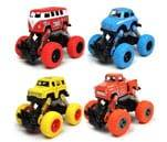Small Product image of WisToyz Pull Back Monster Trucks