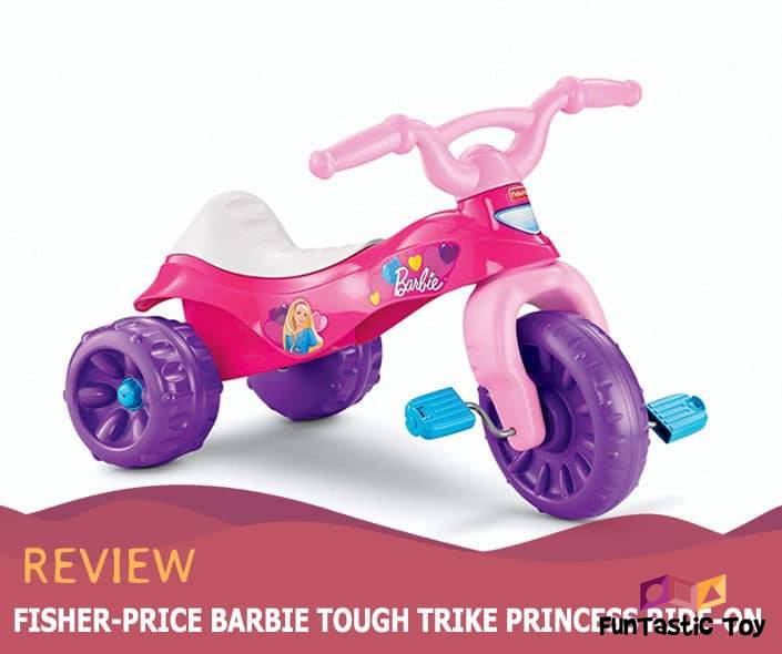 Featured image of Fisher-Price Barbie Tough Trike Princess Ride-On