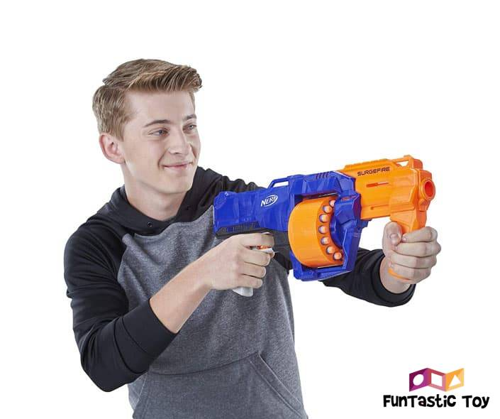Featured image of teenager playing with nerf gun