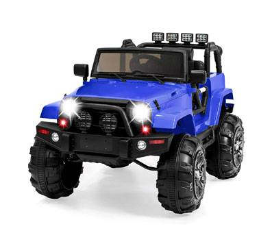 Product image of 12V Ride On Truck blue