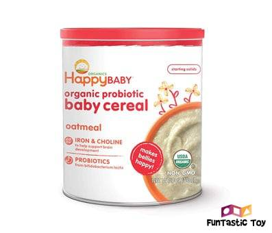 Product image of Happy Baby Organic Probiotic Baby Cereal