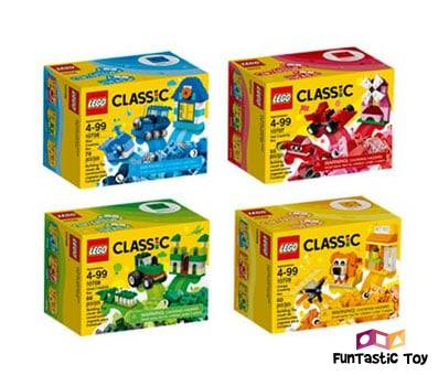 Product image of LEGO Classic Quad Pack 66554