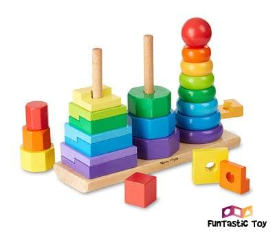 Product image of Melissa & Doug Geometric Stacker