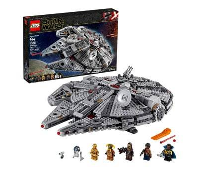 Product image of The Rise of Skywalker Millennium Falcon 75257