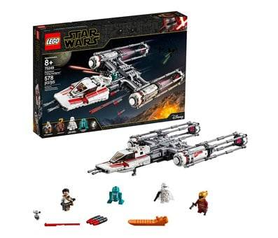 Product image of The Rise of Skywalker Resistance Y-Wing Starfighter 75249