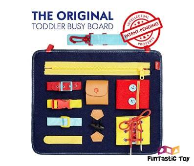 Product image of Toddler Busy Board