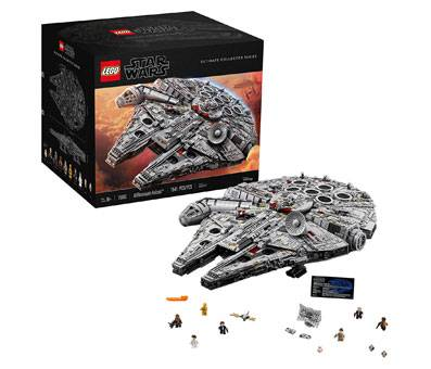 Product image of Ultimate Millennium Falcon 75192