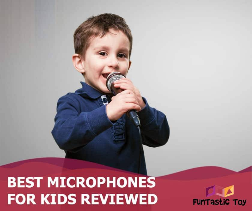 Featured image of little boy singing on microphone