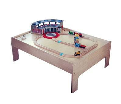 Product image of Sodura Birch Wood Kids Train Table