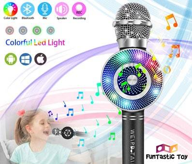 Product image of weird tails Wireless Karaoke Microphone